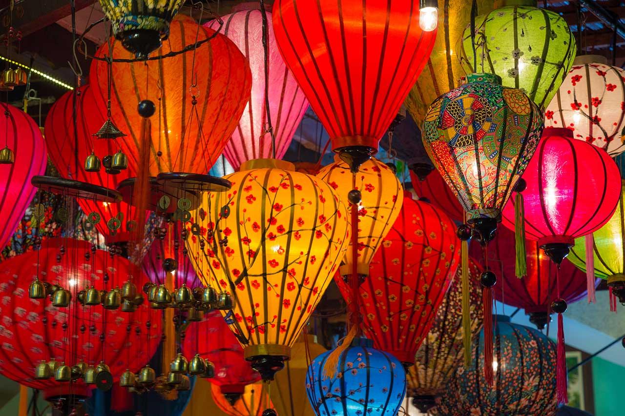 Chinese Lanterns representing versatile Cantonese voices
