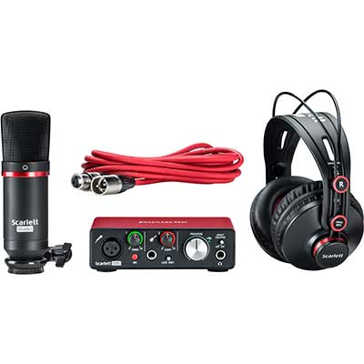 Focusrite studio bundle is excellent value